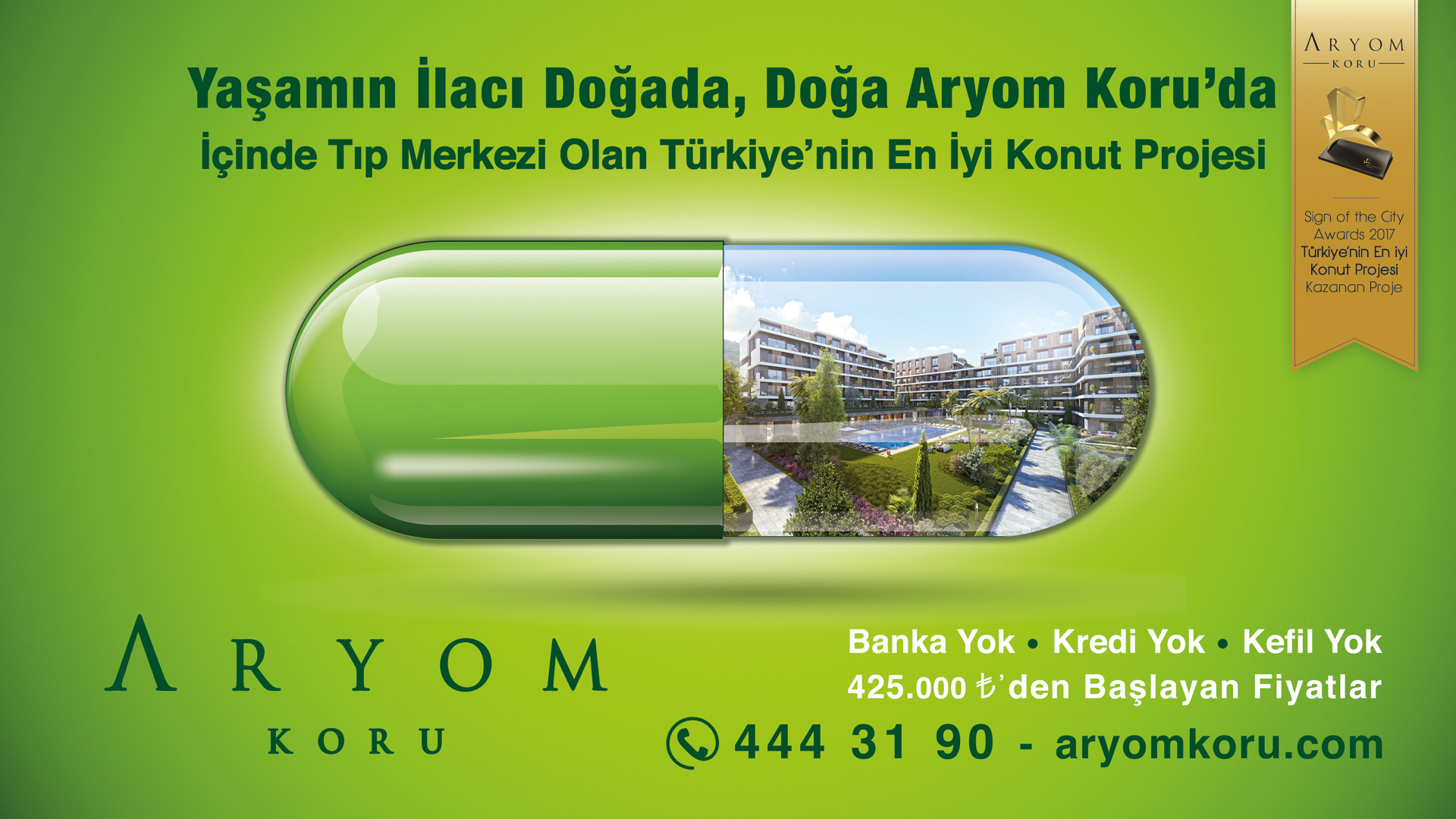 Aryom İnşaat - Advertisement designs