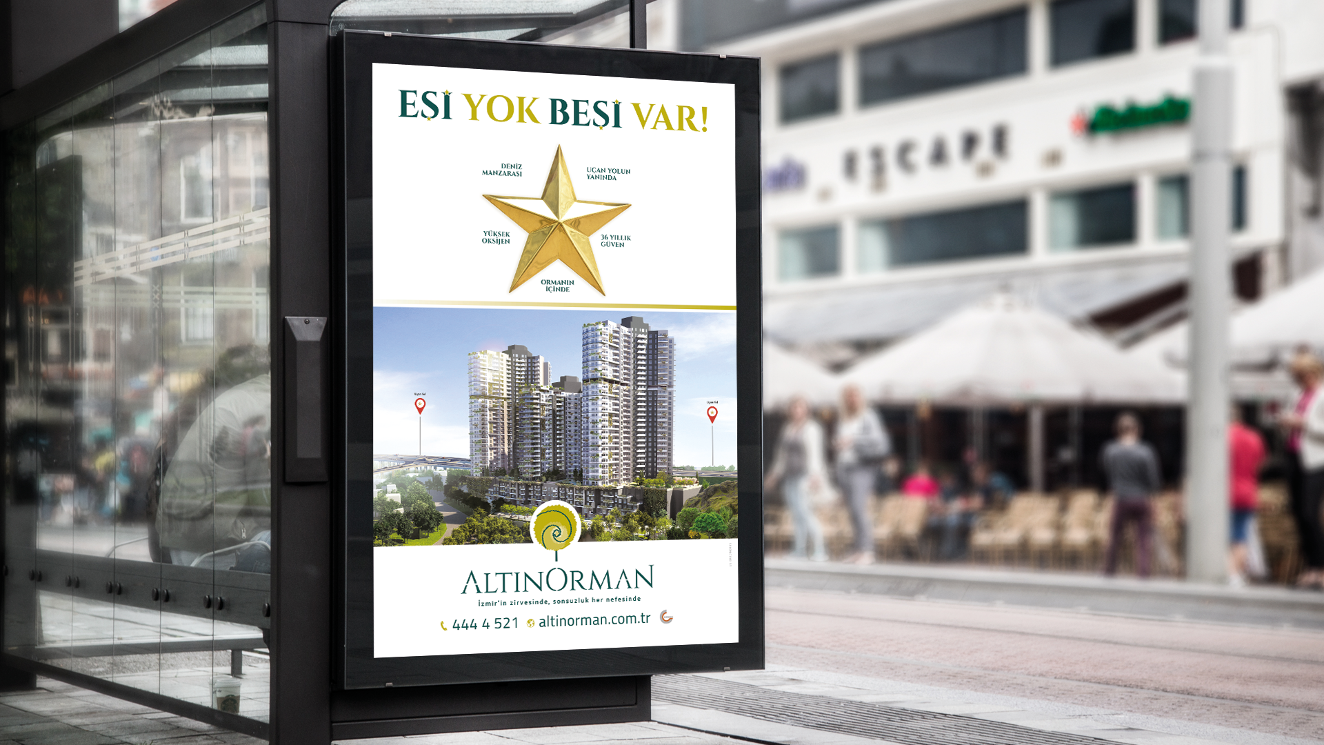 Altın Orman - Advertisement designs